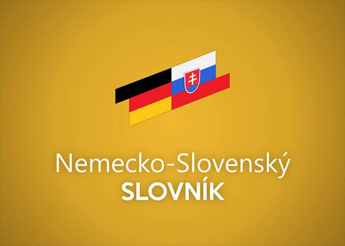 German-Slovak offline dictionary for Windows phone